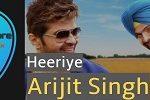 Heeriye Guitar Chords by Arijit Singh