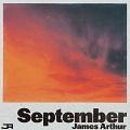 september chords james arthur